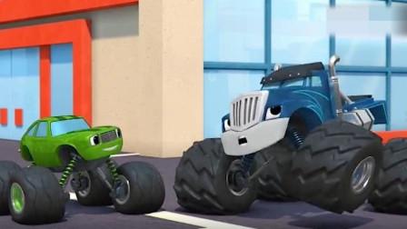 飚速化身机器人对抗柯莱瑟无意造出的机器人,
