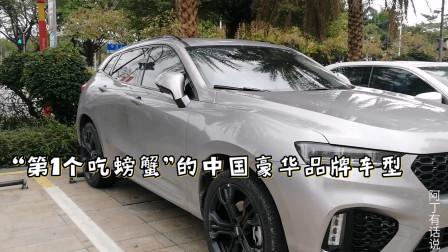 18万你会买国产高端SUV吗?街拍WEY魏派新款VV7 2