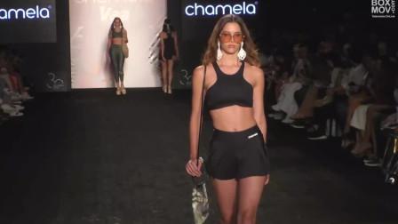 迈阿密时装周时尚泳装秀,美女身姿妖娆,个性