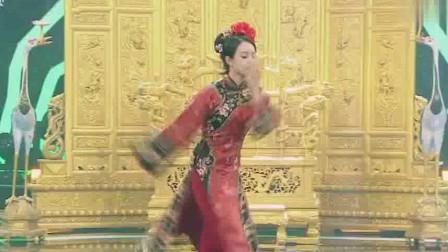 王牌:宋茜扮演清朝格格大跳清版钢管舞,舞技
