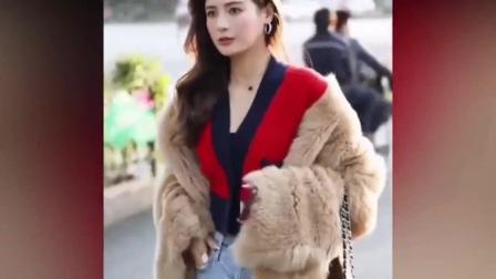 街拍美女:街边偶遇小姐姐,高挑的身材和优雅的气质,你喜欢吗