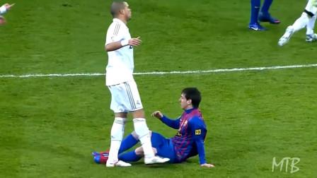 10分钟集锦:回顾西甲国家德比梅西遭受皇马的暴力犯规,用进球说话实力回击!