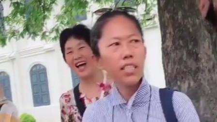 泰国网红导游,梅姐不止幽默还很正义,这不现