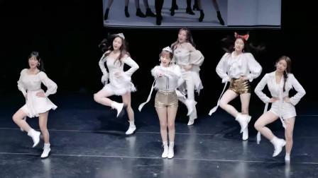 高清饭拍,韩国美女团DreamNote粉丝签名会,一群白衣天使美极了