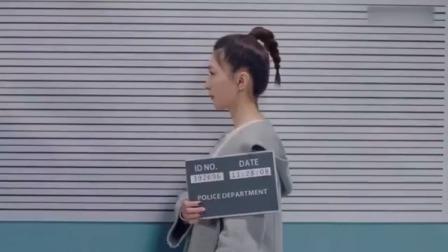 美女第一次坐监狱,什么都不懂,拍个照都能笑