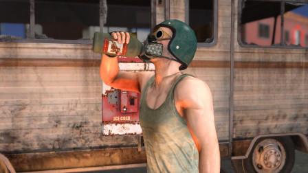 吃鸡搞笑动画:如果燃烧瓶可以喝,会发生什么