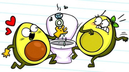 牛油果搞笑动画:一波三折的求婚记,成事不足