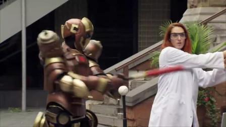国外恶搞搞笑视频:失去控制的机器人