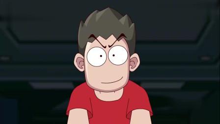 搞笑动画:小伙安慰哥们心态要好,当哥们拿出