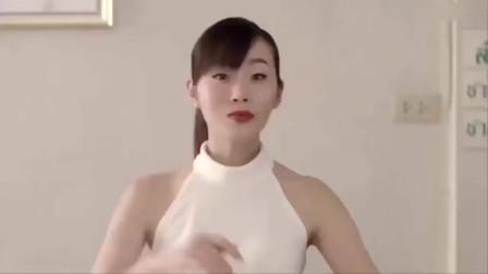 创意广告:剧情神反转,美女你的气场实在太大
