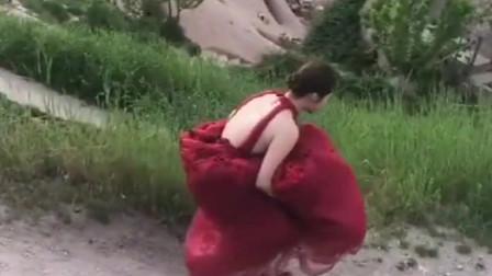 新娘出嫁当天竟发生了这样的糗事,这波操作是