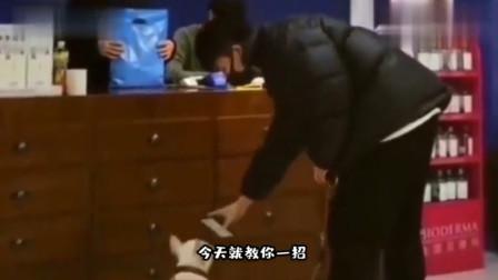 搞笑视频:别人都是人脸识别 你这是狗脸识别啊
