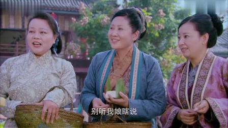 美女乖巧能干,在大街上卖豆腐,大婶抢着做她