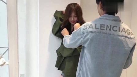 日本美女模特拍写真,网友:自带撩人体质