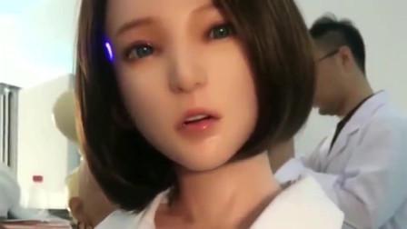 日本仿真美女机器人,看见她有点动心了,是你