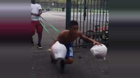 篮球:你知道这个是什么训练吗