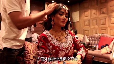 印度美女嫁到中国广州,岳母来探望中国女婿,