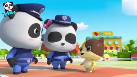 《宝宝巴士启蒙音乐剧》小小警察警察叔叔巡逻