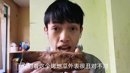 广西壮语搞笑视频:吃个烤地瓜悟出人生大道理