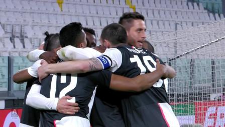 空场!意甲尤文图斯对阵国米比赛集锦:拉姆塞抢射C罗,迪巴拉另类巧射建功!