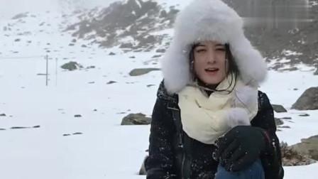 美女自驾游西藏,风雪太大海拔太高