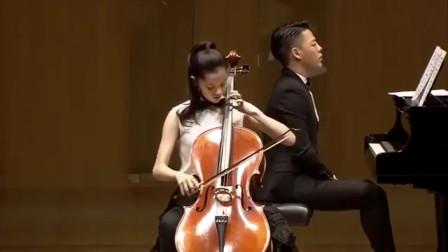 美女大提琴独奏 武汉音乐学院附中毕业音乐会