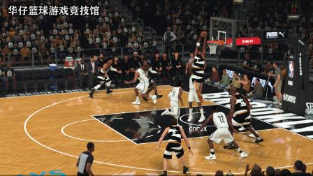 NBA2K20半决赛麦迪大战篮网队集锦,麦迪突破欧文干拔杜兰特隔扣小乔丹!
