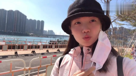 香港人的生活:美女到香港超市买东西 找到一个