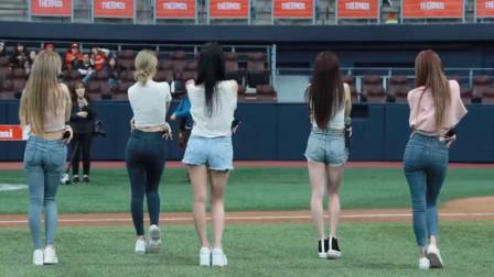 韩国女团   *lah*lahDDD唯美热舞,五个高颜值美女。