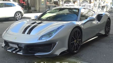 2020 1月苏黎世超跑 街拍#3:Aventador SVJ, 812 SF, F1