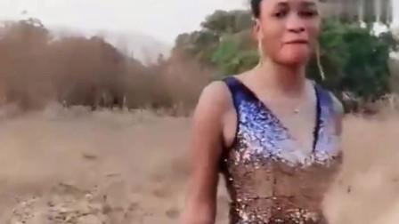 第一次见这么漂亮的非洲美女,完美诠释黑人之