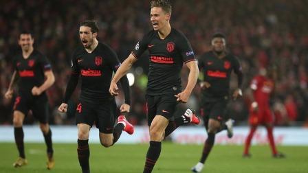 「原声集锦」利物浦2-3马德里竞技 欧冠1/8  利物浦淘汰
