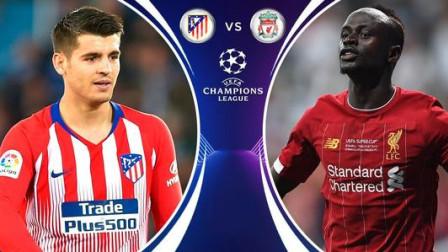 欧冠1/8决赛集锦,利物浦 3-2马德里竞技,略伦特梅开二度扳平比分,马竞总分4-2进8强