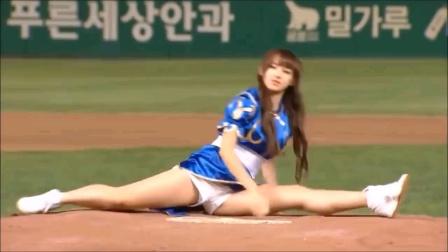 棒球美女开球仪式
