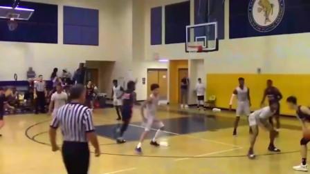 被称为中国篮球的未来,中国16岁小将曾凡博美国高中比赛集锦!