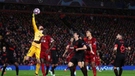 欧冠-加时赛丢3球!利物浦总比分2-4出局,马竞晋级8强[集锦]