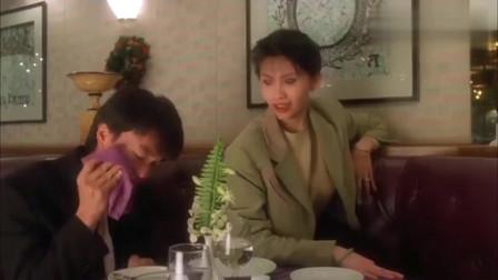 影视:周星驰恶搞邱淑贞,场面搞笑,吃东西的