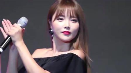 """洪真英天生的韩国女神,会唱歌会""""Rap""""会跳舞"""