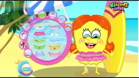 恶搞海绵宝宝,这两个打扮怪异的海绵宝宝你更