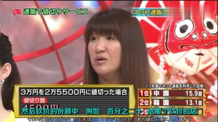 日本综艺:没想到中国的网购还能砍价