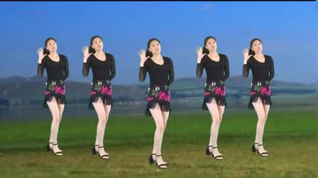 气质美女广场舞《活力节拍》拉丁健身舞,时尚