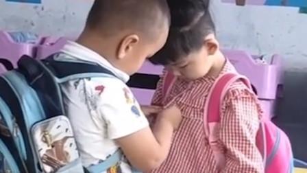 爆笑:小孩子都比你会撩,直男都学习着点儿