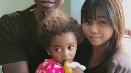 非洲的一个家庭,中国美女在这里过得很幸福,