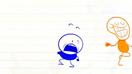 铅笔人搞笑动画:小美帮阿呆量身高