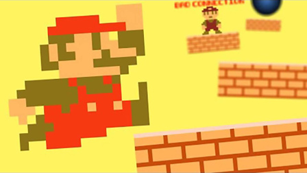超级玛丽:马里奥超搞笑动画,马里奥的跑酷灾