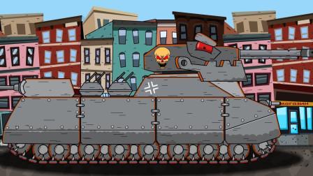 坦克世界搞笑视频:倒霉的小坦克,被揍的无处可逃!