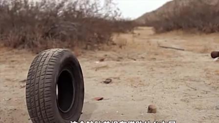 外国影视:轮胎成精之后,却爱上了一位美女!