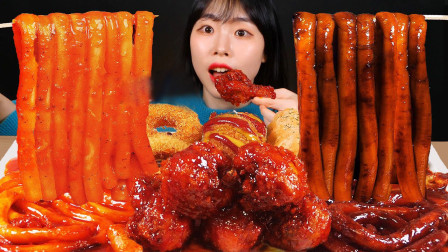 美女吃香辣美食,吃相太馋人,连厌食症都能治