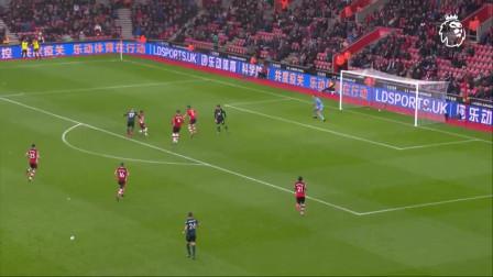 英超2月最佳进球:维德拉X部停球横跨小禁区左脚爆射