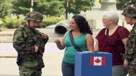 国外恶搞:路人手贱拔掉军人的手榴弹拉环,爆